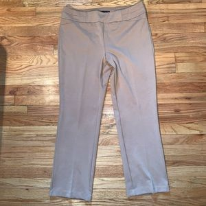 New York & Company Camel Pull on Pants